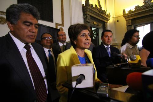 Los jefes de las bancadas del Congreso, menos de PP y Lider, pidieron a la Junta Directiva sancionar a los diputados que no asisten. (Foto: Alexis Batres/Soy502)