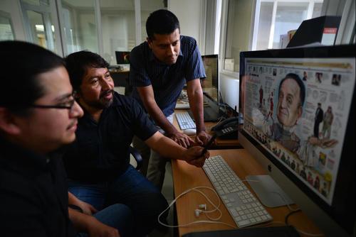 Este es el equipo que hace posible la magia en Nuestro Diario. (Foto: Archivo/Soy502)