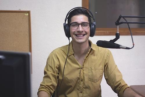 Diego Melendreras es el compañero de fórmula de Andrea, acompañará tus momentos en este nuevo espacio radial. (Foto: José Ramírez)