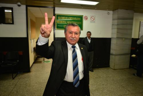 El diputado Edgar Ovalle está prófugo. (Foto: Jesús Alfonso/Soy502)