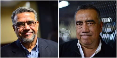 De izquierda a derecha:  Manuel Barquín y Jaime Martinez Lohayza. (Foto: elaboración propia)