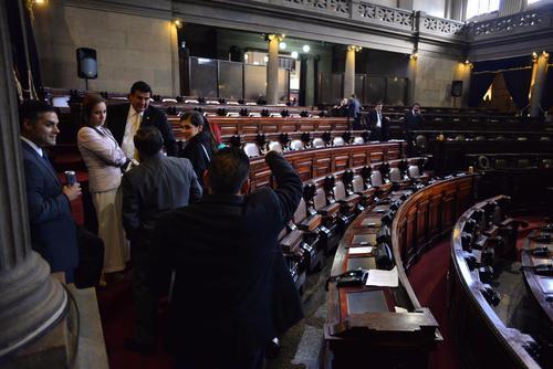 Los diputados aún tienen un mes para cambiar de partido sin perder ningún beneficio. (Foto: Wilder López/Soy502)