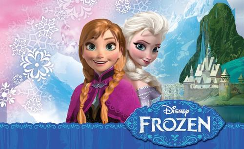 """Las princesas Anna y Elsa, protagonistas de la película """"Frozen: una aventura congelada""""."""