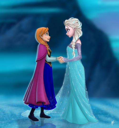 """La nueva película de Disney """"Frozen: una aventura congelada""""."""