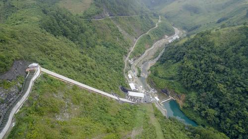 Este proyecto hidroeléctrico busca emplear recursos renovables como el agua para la generación de energía. (Foto: George Rojas/Soy502)