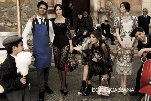 descubre el sencillo secreto de las italianas para tener una saludable figura. (Foto: Dolce & Gabbana)