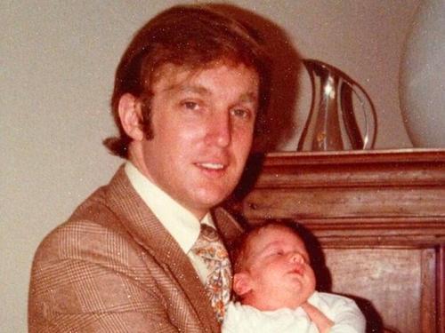 Donald Trump a sus 25 años. (Foto: Instragram/@RealDonaldTrump