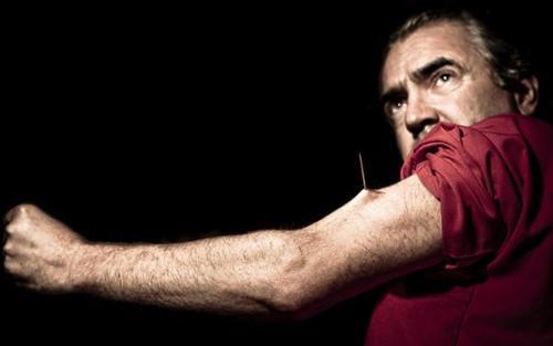 Tim Cridland es el hombre que no siente dolor. (Foto: Infobae)