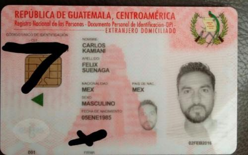 Carlos Kamiani Félix ya posee la residencia permanente como guatemalteco. (Foto: Twitter)