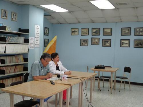 Representantes de la Asamblea del hospital General ofrecieron una conferencia de prensa con el fin de unirse a las demandas del Colegio de Médicos. (Foto Marcia Zavala/Soy502)