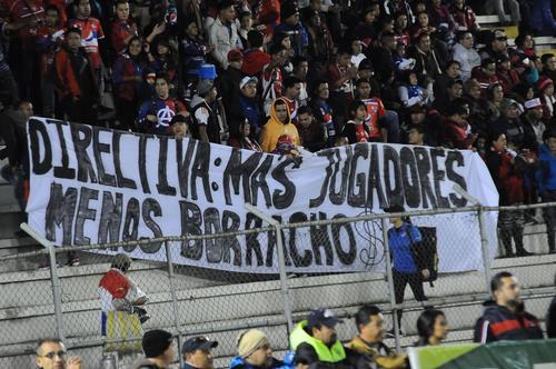 Este fue el mensaje de la afición de Xela para sus jugadores. (Foto: Nuestro Diario)