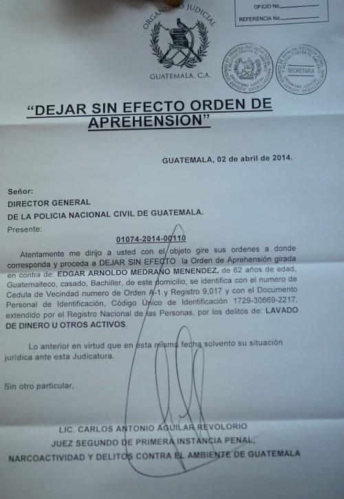 Así se registró la desestimación de la orden de aprehensión de ambos alcaldes. (Foto: Jesús Alfonso/Soy502)