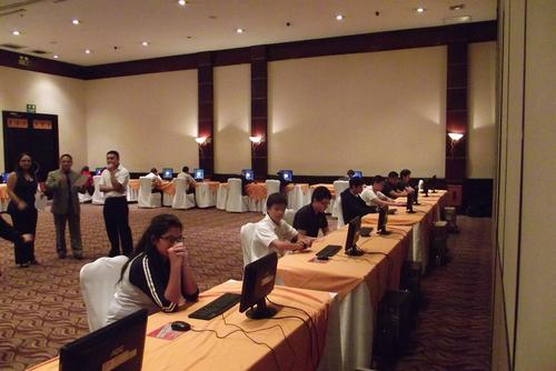 Los estudiantes de diversos centros educativos demostraron sus habilidades para estos programas de Office Microsoft.