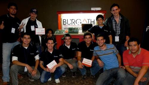 La empresa Burgath ha generado varios eventos enfocados en potenciar el talento de los estudiantes de ingeniería. (Foto: Burgath.com).