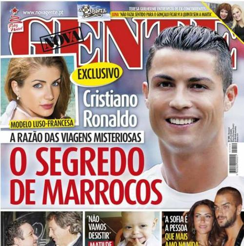 La modelo, Melanie Martins, la nueva novia de Cristiano Ronaldo.