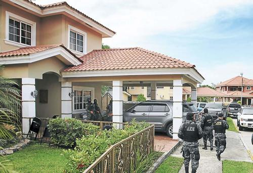 Vista de una residencia embargada a testaferros de Jairo Orellana en Honduras. (Foto: www.laprensa.hn )