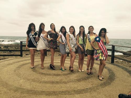 La guatemalteco durante una sesión de fotos en Guayaquil, Ecuador. (Foto: Miss Guatemala)