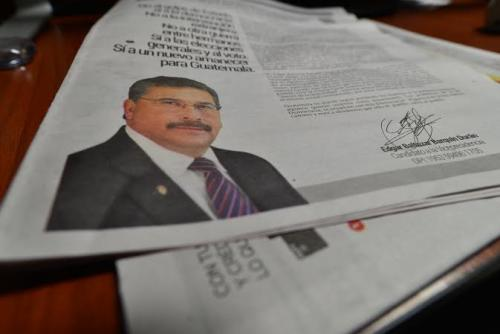 Tras la presentación de la solicitud de antejuicio, Barquín publicó un comunicado donde afirmaba ser parte de un complot. (Foto: Wilder López/Soy502)
