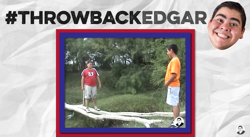Esta es una de las escenas de Edgar, protagonista del primer video viral en español. (Foto: captura de pantalla)