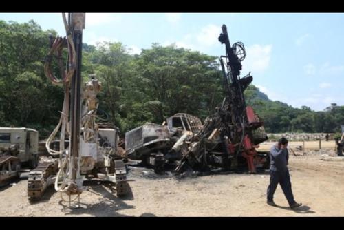 Las pérdidas por los destrozos ocasionados en las instalaciones de la hidroeléctrica en Huehuetenango, podrían sumar los ocho millones de quetzales. (Foto: AGN)