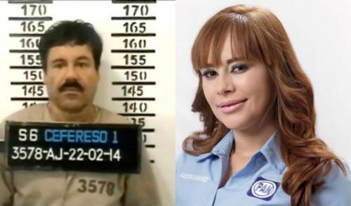 """Joaquín """"El Chapo"""" Guzmán y la diputada Lucero Guadalupe Sánchez López. (Imagen: lopezdoriga.com)"""