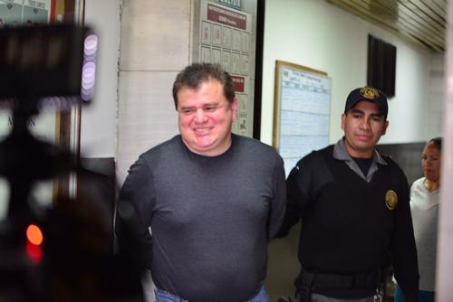 El Rojo se encuentra en los tribunales de Guatemala. (Foto: Jesús Alfonso/Soy502)