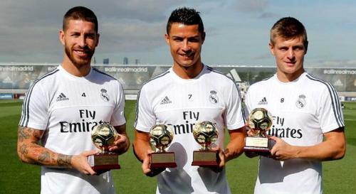 La Federación Internacional de Historia y Estadística de Fútbol (IFFHS) entregó al Real Madrid el premio al Mejor Club del Mundo de 2014. (Foto: debate.com.mx)