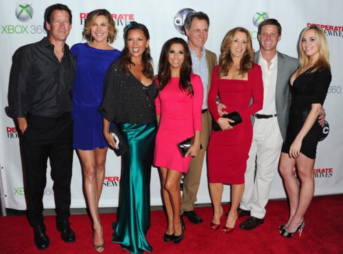 """Brenda comparte con junto al elenco de """"Desperate Housewifes"""". (Foto: Google)"""