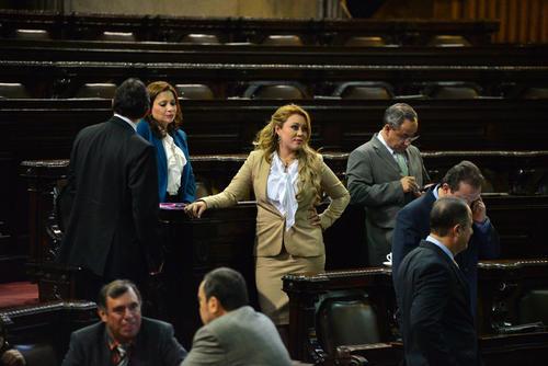 La diputada Emilenne Mazariegos tiene un antejuicio en su contra. (Foto Archivo/Soy502)