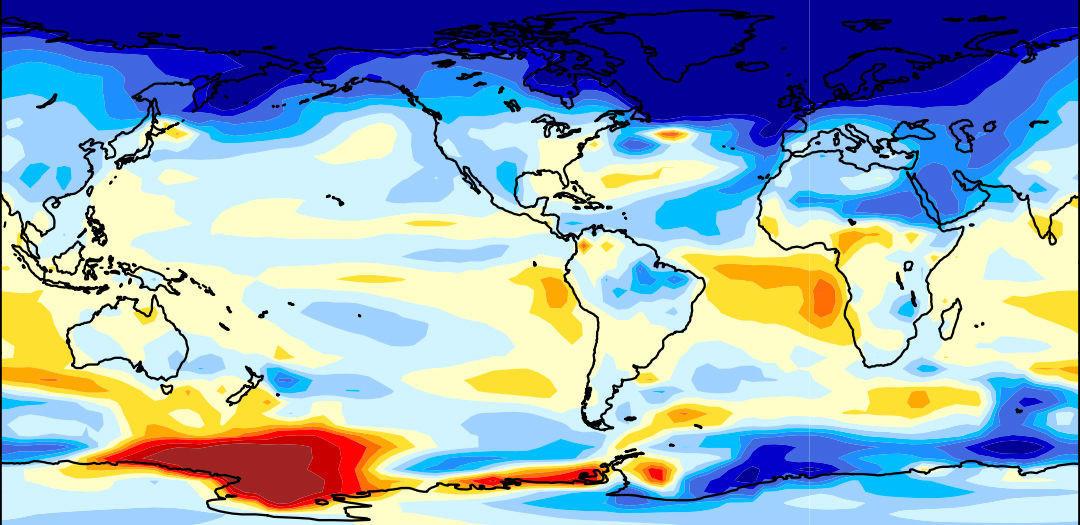 """El estudio considera que el """"enfriamiento global"""" no debe descartarse. (Foto: Wei Liu/Yale)"""