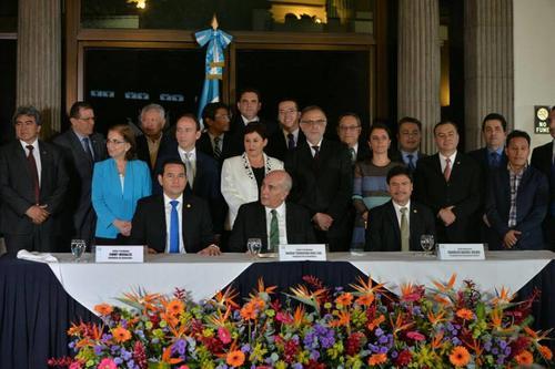 La propuesta de reformas constitucionales se presentó el 5 de octubre. (Foto: Wilder López/Soy502).