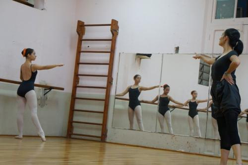 Escuela Nacionla de Danza Marcelle Bonge de Devaux. (Foto: Ministerio de Cultura y Deportes)
