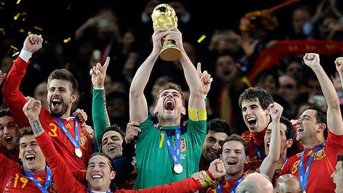 España es la actual campeona del mundo tras obtener el título en Sudáfrica 2010. (Foto: extradeportes.com)