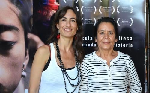Pilar Peredo y Marina Peralta, productoras de Ixcanul. (Foto: Selene Mejía/Soy502)