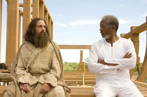 Morgan también interpretó a Dios en la película Evan Almighty. (Foto: moviespix)