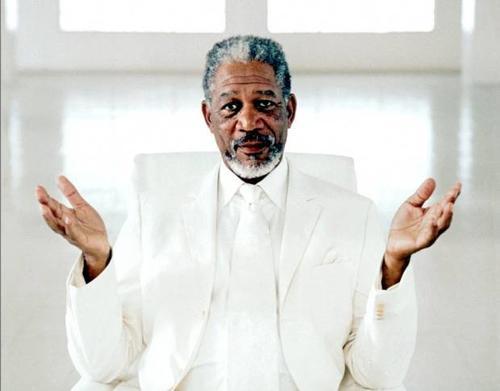 La voz de Freeman se presta como la voz de Dios en otros proyectos. (Foto: The Independent UK)