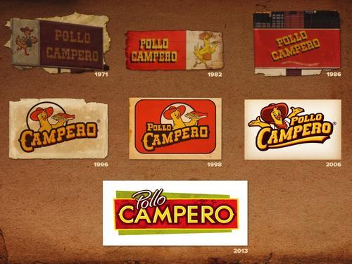 Desde 1971 el logotipo ha cambiado en 7 ocasiones siendo esta la más drastica, fresca y renovada. (Foto: Pollo Campero)