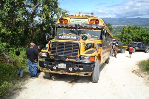 Este es el bus que conducía al momento del atentado en su contra. (Foto: Nuestro Diario)