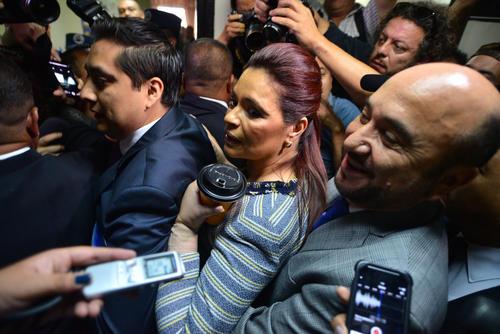 Las cuentas bancarias del esposo de Baldetti, Marino Paz, fueron embargadas a petición del MP. (Foto: Archivo/Soy502)