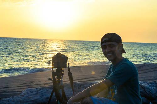 Diego Fabriccio, autor de la fotografía ganadora. (Foto: Facebook)