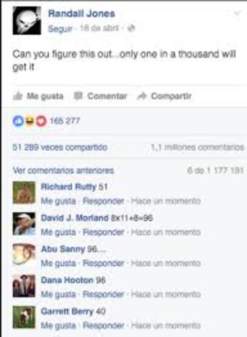 Los comentarios de los resultados varían entre los usuarios. (Foto: Facebook)