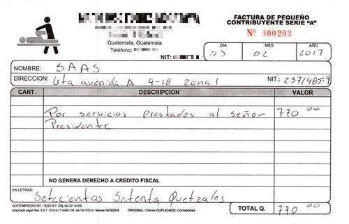El segundo masaje fue mientras los familiares del gobernante estaban en prisión. (Foto: José Miguel Castañeda/Soy502)