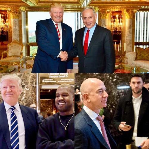 Tras ganar las elecciones, varios famosos se reunieron con Donald Trump en su torre. (Foto: Infobae)