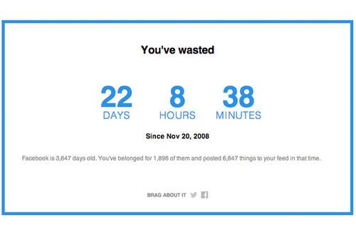 El dato incluye los días que lleva creado tu perfil y cuantas veces has posteado en tu cuenta.