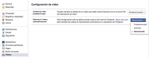 Desactivar la función de reproducción automática de videos en Facebook es sencillo, únicamente es necesario seguir estos pasos. (Foto: Facebook)
