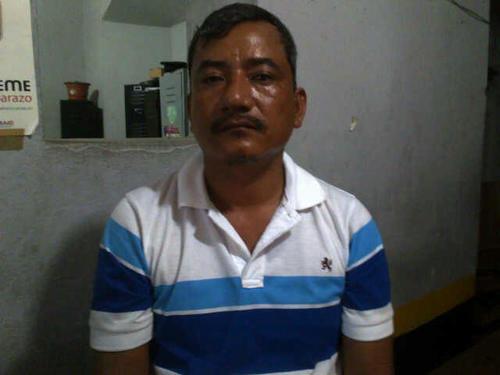 Primer plano de Félix Antonio Pimentel, de 42 años. A finales de junio de este año, las autoridades capturaron a otras cuatro personas acusadas de pertenecer a la organización de Chamalé, entre ellos un sobrino. (Foto: Edwards Morales/Nuestro Diario).