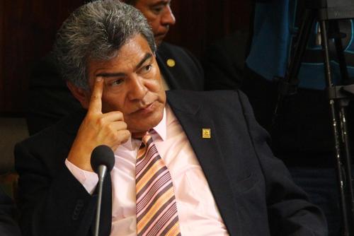 Walter Félix asumió como diputado hasta el 23 de noviembre de 2013. (Foto: Alexis Batres/Soy502)