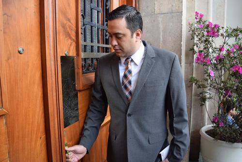 Diputado Luis Fernández Chenal. (Foto Alexis Batres/Soy502)