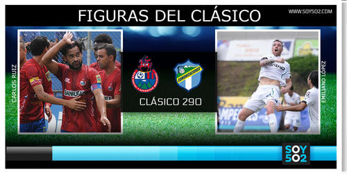 """Carlos """"el Pescadito"""" Ruiz del lado rojo y el argentino, Emiliano López del lado blanco son los hombre en punta para el clásico 290."""