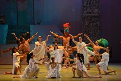El Ballet Folklórico hará una puesta en escena de Miguel Ángel Asturias. (Foto: Archivo/Soy502)